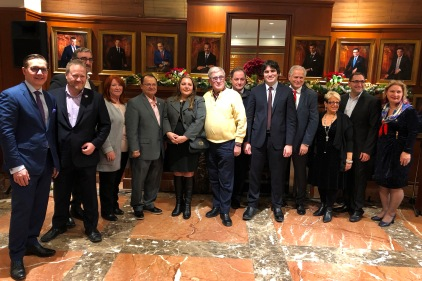 Il cocktail di Natale ed il concerto del Congresso Nazionale degli Italo-Canadesi