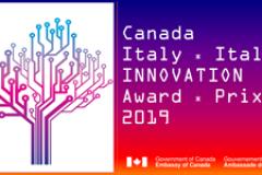 Premio Canada-Italia per l'innovazione