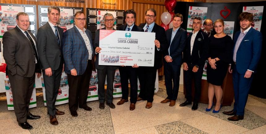 """Nuovo record di 212 500$ per il """"Tirage du coeur"""" della Fondazione Santa Cabrini"""