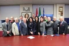 La Senatrice Alderisi in visita al Comites di Montréal