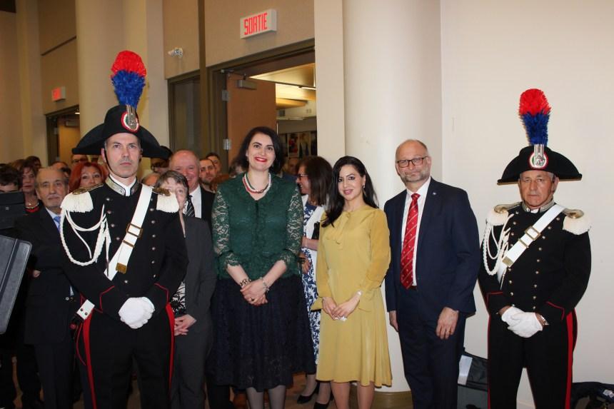 Celebrata la Festa della Repubblica Italiana alla Casa d'Italia