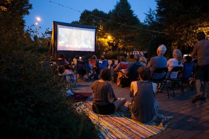 Cinema sotto le stelle al Parco Dante