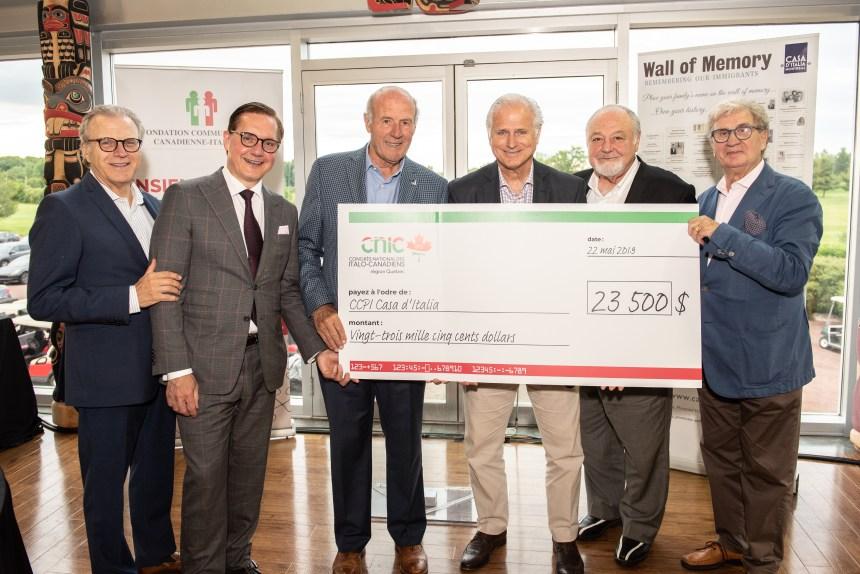 Il sostegno del CNIC alla Casa d'Italia