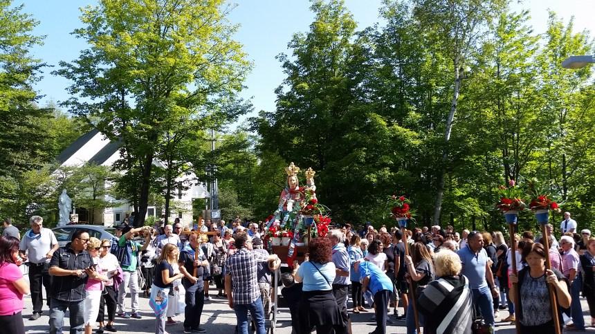 La festa della Madonna della Montagna di Polsi