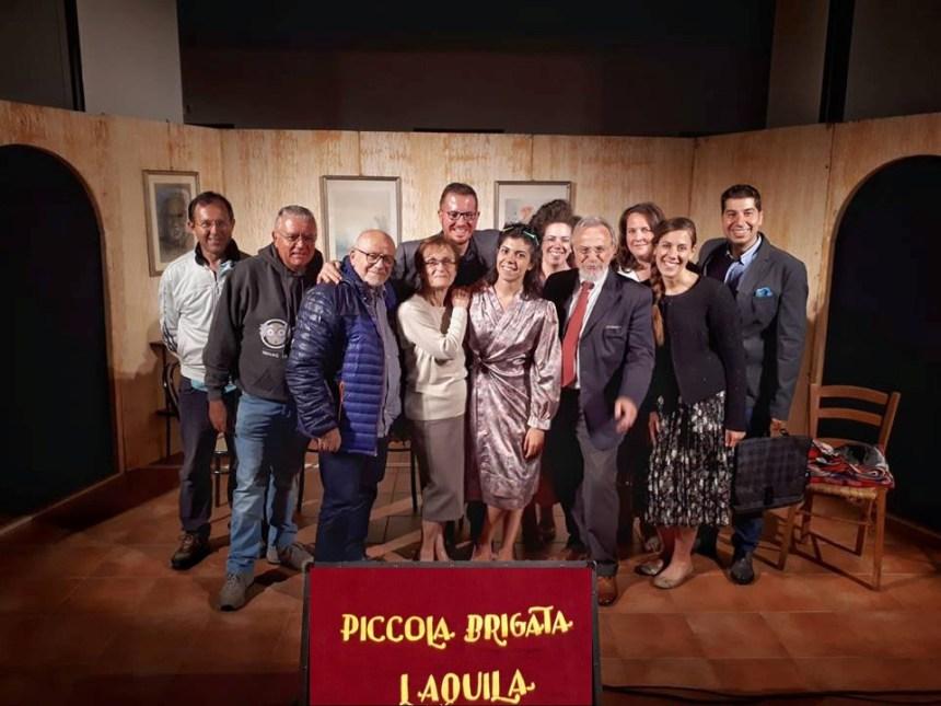 """""""La Piccola Brigata"""" de l'Aquila a Montréal"""