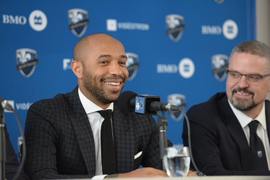 Thierry Henry nuovo allenatore dell'Impact