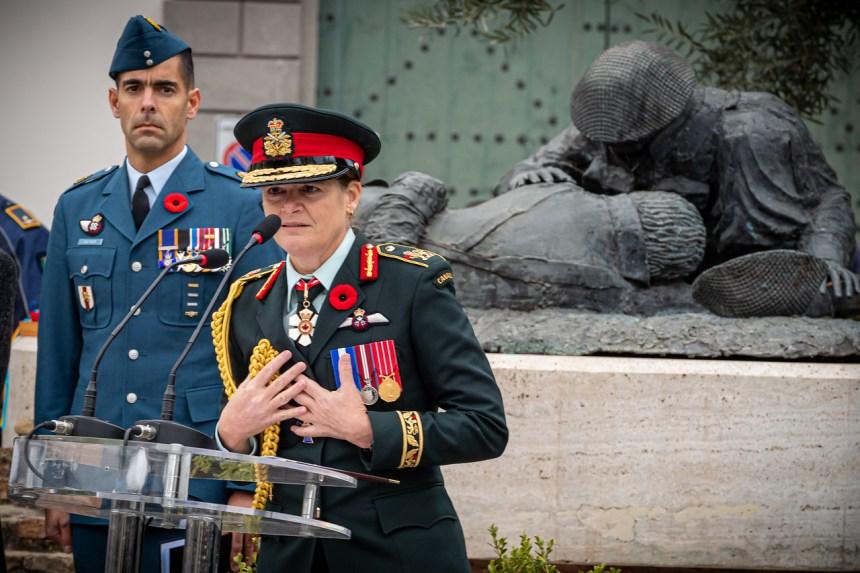 La visita in Italia della Governatrice Generale del Canada Julie Payette