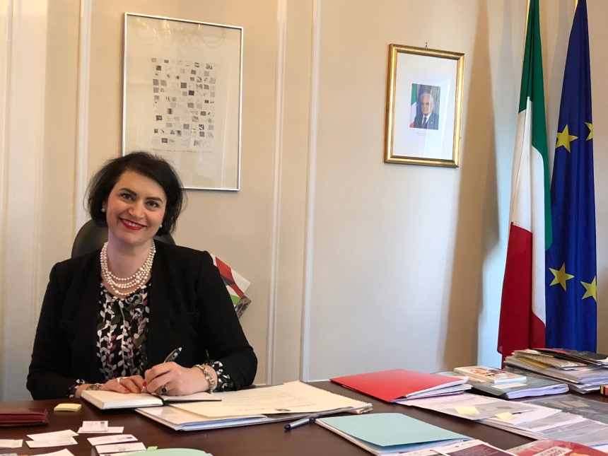 Messaggio di Natale della Console Generale d'Italia a Montréal Silvia Costantini