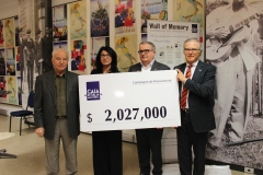 Il traguardo si avvicina: raccolti 2,027,000 $