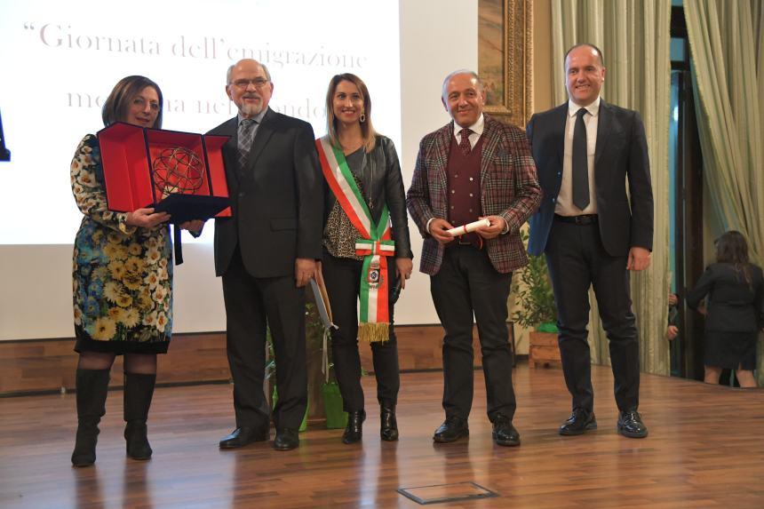 Egidio Vincelli, Ambasciatore del Molise nel mondo