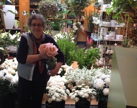 Angela, da 53 anni in mezzo ai fiori