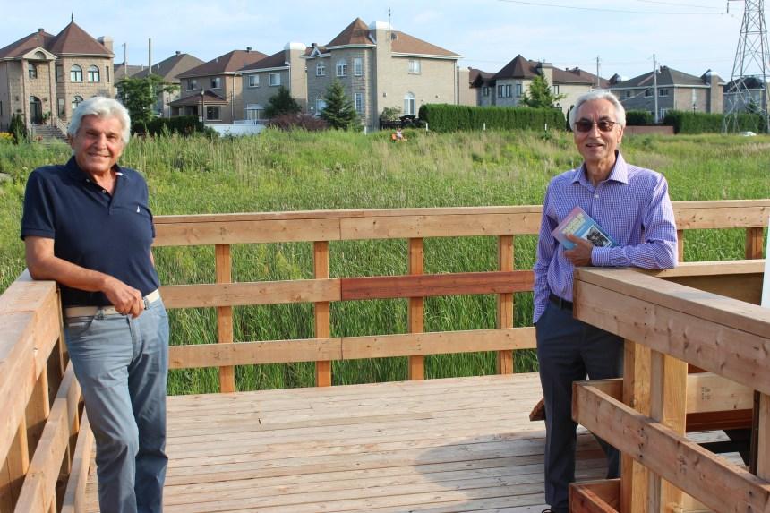 A Saint-Léonard un parco dedicato ad Ermanno La Riccia, ingegnere ed ex collaboratore del Corriere Italiano