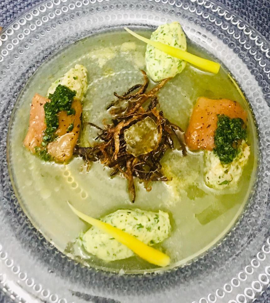 """""""Riflesso estivo"""", la ricetta dello chef Davide Spinelli"""