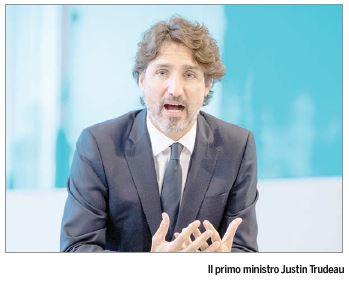 Trudeau: «L'ultima cosa che vogliamo è il lockdown il prossimi autunno»