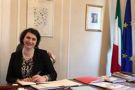 Gli auguri di Pasqua della Console Generale d'Italia a Montréal Silvia Costantini