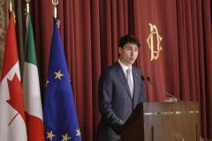 Justin Trudeau presenterà le scuse ufficiali agli Italo-Canadesi
