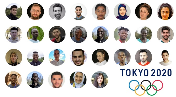 Olimpiadi: il Cio presenta la squadra dei rifugiati in partenza per Tokyo