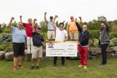 Nuovo record per l'Open di golf Santa Cabrini: raccolti  217 000$ netti