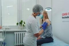 Il Centro di vaccinazione a R.d.P.