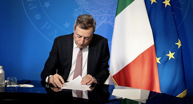 Clima, Draghi: «Rispettare gli impegni o le conseguenze saranno catastrofiche»