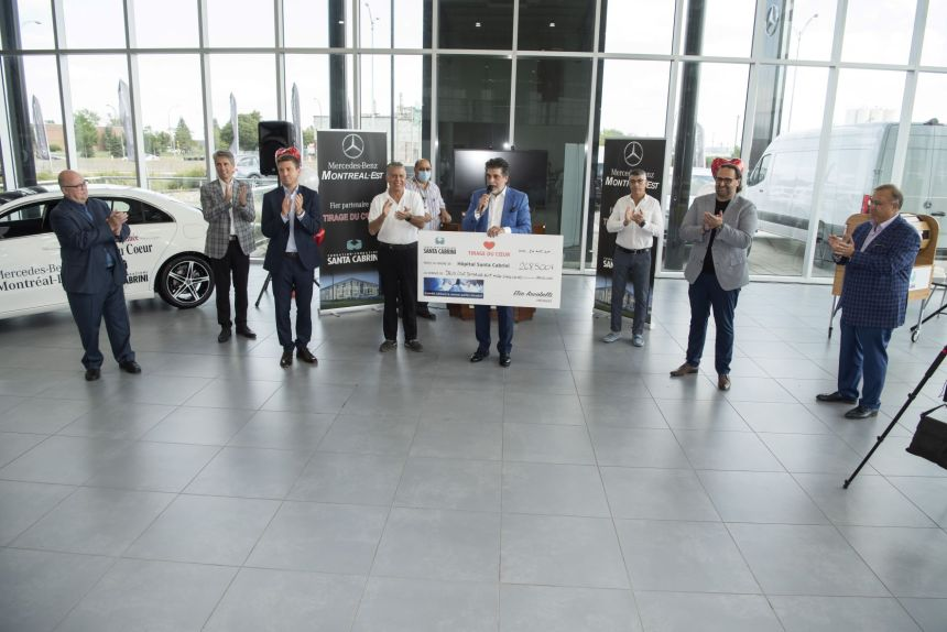 """""""Tirage du coeur"""" della Fondazione Santa Cabrini: battuto un nuovo record: 268 500$"""